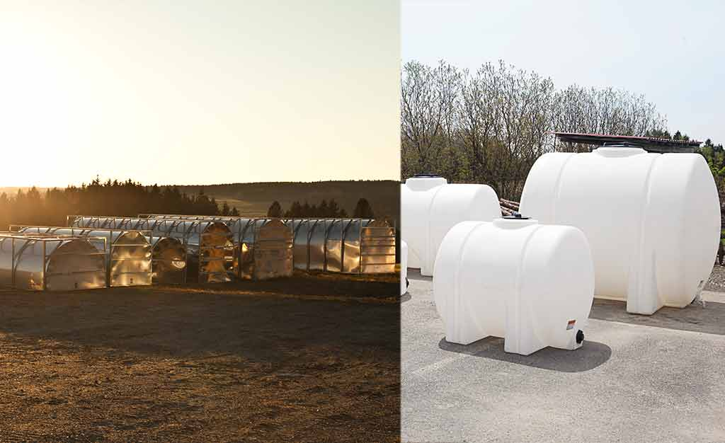 Sap pool and tanks for maple farm in every size